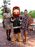 Bonaire students have dinner with Brunos