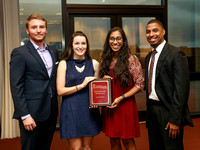 Student Affairs Awards Banquet 2016