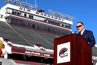 ULM Football Coach Press Conference