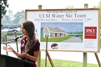 Water Ski team facility ground breaking