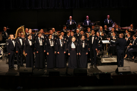 United States Air Force Concert Band and Singing Sergeants