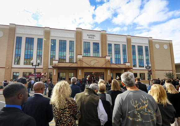 Sandel Hall and Barnes & Noble Grand Opening