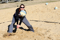 Sand Volleybal Practice