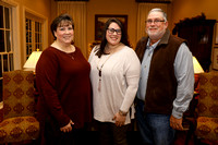 University of Louisiana at Monroe President Dr. Nick Bruno and First Lady Linda Bruno host graduating family members of ULM employees at Bon Aire, Thursday, December 6, 2016.