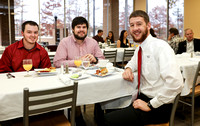 Latin Honors Breakfast, Fall 2015